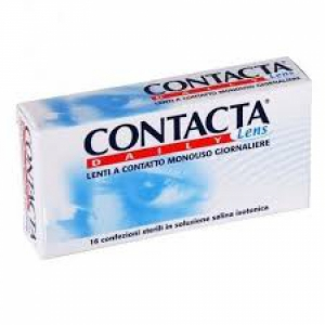 LENTE A CONTATTO MONOUSO GIORNALIERA CONTACTA DAILY LENS SILICONE HYDROGEL -3,50 30 PEZZI