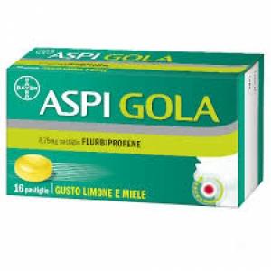 ASPI GOLA 8,75 MG PASTIGLIA GUSTO MIELE LIMONE 16 PASTIGLIE IN BLISTER PVC/PVDC/ALLUMINIO