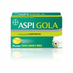 ASPI GOLA 8,75 MG PASTIGLIA GUSTO MIELE LIMONE 24 PASTIGLIE IN BLISTER PVC/PVDC/ALLUMINIO