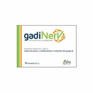 GADINERV 15 COMPRESSE 1G