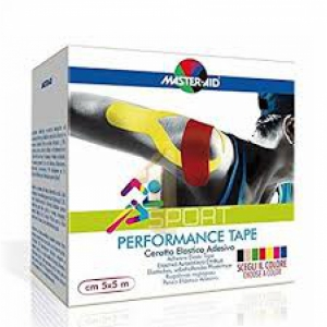 MASTER-AID S PERFORM BLACK TAPING NEUROMUSCOLARE 5 CM X 5 MT