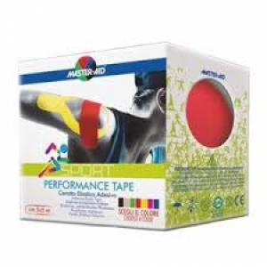 MASTER-AID S PERFORM RED TAPING NEUROMUSCOLARE 5 CM X 5 MT