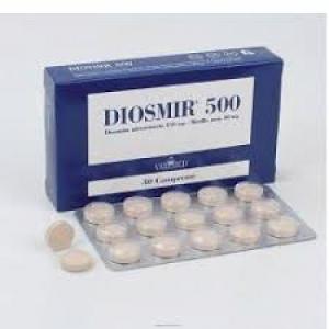DIOSMIR 500 30 COMPRESSE