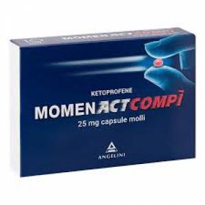 MOMENACTCOMPI 25 MG CAPSULE MOLLI 10 CAPSULE IN BLISTER PVC-PVDC/AL