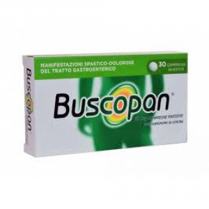 BUSCOPAN 10 MG COMPRESSE RIVESTITE, 30 COMPRESSE RIVESTITE