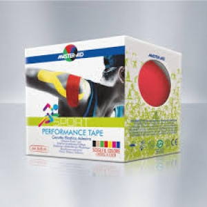 MASTER-AID SPORT PERFORM YELLOW TAPING NEUROMUSCOLARE 5 X 500 CM