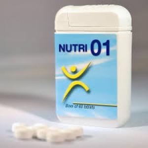 NUTRI 01 60 COMPRESSE