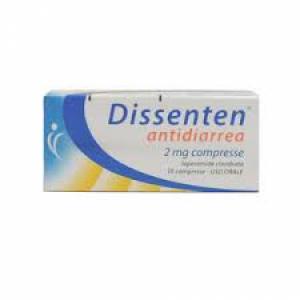 DISSENTEN ANTIDIARREA 2 MG COMPRESSE 10 COMPRESSE IN BLISTER PVC/AL