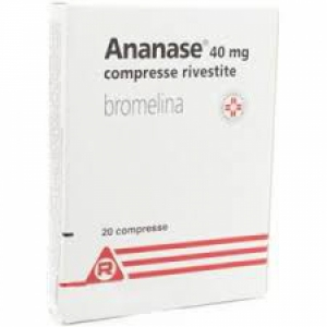 ANANASE 40MG COMPRESSE RIVESTITE, 20 COMPRESSE RIVESTITE