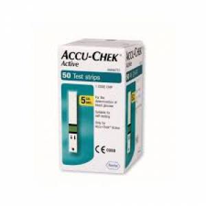 STRISCE MISURAZIONE GLICEMIA ACCU-CHEK ACTIVE STRIPS 50 PEZZI INF RETAIL