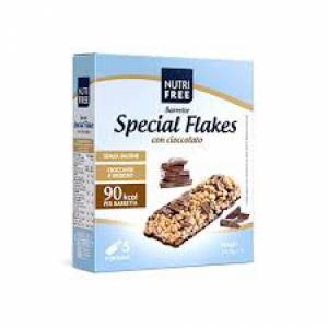 NUTRIFREE BARRETTE SPECIAL FLAKES CIOCCOLATO 24,8 G X 5