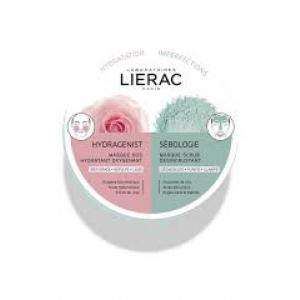 LIERAC MONO MASK HYDRA + SEBOLOGIE 2 X 6 ML