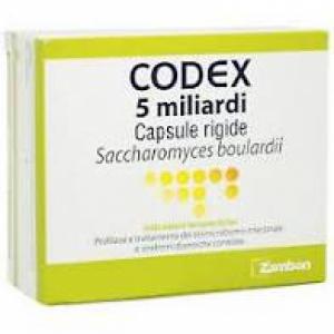 CODEX 5 MILIARDI CAPSULE RIGIDE, 30 CAPSULE IN BLISTER PVC/AL