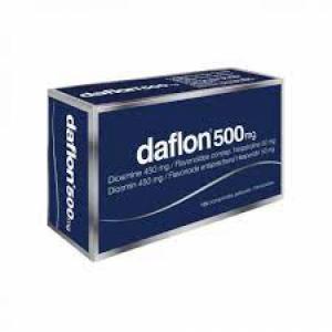 DAFLON 500 MG COMPRESSE RIVESTITE CON FILM 120 COMPRESSE IN BLISTER PVC/AL